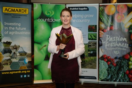 Annabel Bulk is New Zealand's Young Horticulturist of the Year 2018